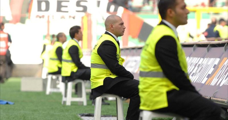 Steward allo stadio