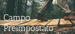 Outdoor Training - Campo Preimpostato